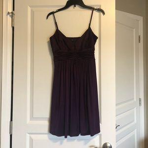 Gorgeous plum colored dress!